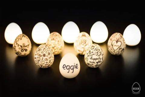 La lampada uovo che porti con te ovunque vuoi